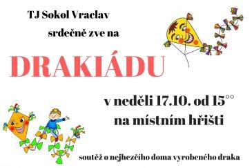 Drakiáda 2021 na hřišti Vraclav
