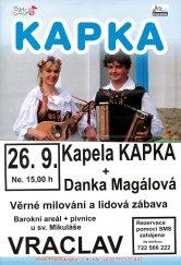 Kapela Kapka a Danka Magálová
