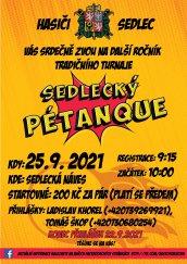 Petanque Sedlec 2021