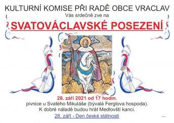 Svatováclavské posezení