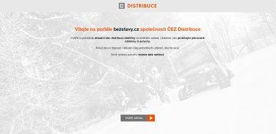 ČEZ Distribuce - poruchy, odstávky