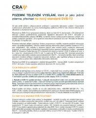 Pozemní televizní vysílání - DVB-T2