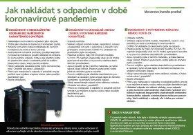 Jak s odpadem v koronavirové době
