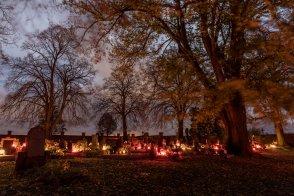2. 11. 2020 hřbitov ve Vraclavi