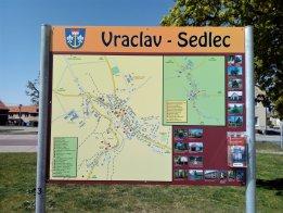 Nové orientační tabule ve Vraclavi a Sedleci