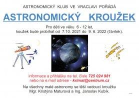 Astronomický kroužek pro děti